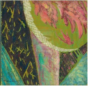 Tulipes aux couleurs des merveilles -hommage à Arabesque -Martine Richard dans Amicizia tulipe_verte_by_Martine_m_richard2-300x295