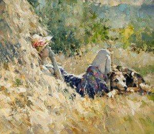 Stupore estivo & Non canto con gli uccelli dans Amicizia fille_10-300x261