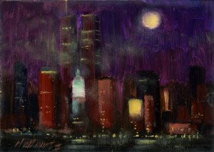 new_york_city_night_5x7_oil_on_panel_a2064601ada5adfa90e8eb966d2f89d5