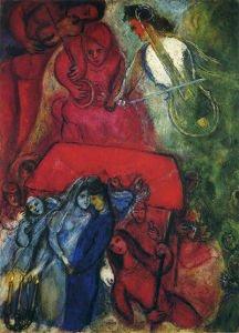 The Wedding Marc Chagall